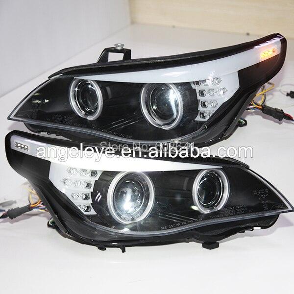 2003 2005Year E60 523i 525i 530i Head Light CCFL Angel Eyes For BMW original car without HID kit