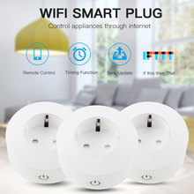 купить WIFI Wireless Remote Socket Smart Home Timer EU Plug Voice Control EU Home Fire Retardant PC Smart Power Socket EU Plug по цене 448.13 рублей