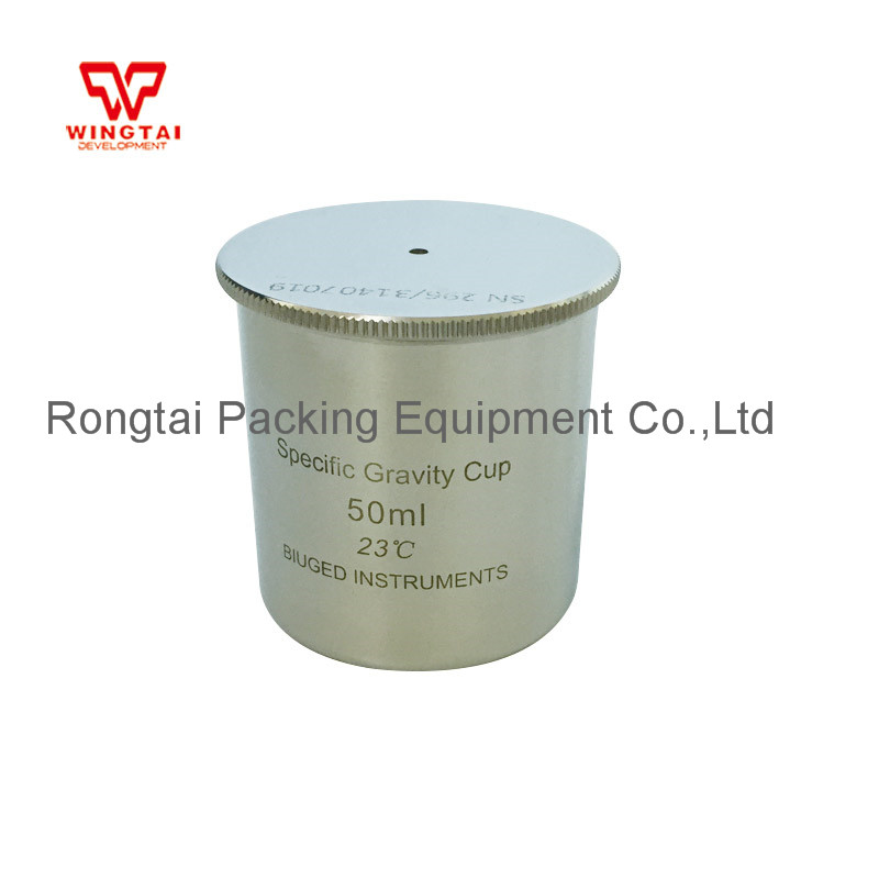 Good Quality 50cc/ml Stainless Steel Material Specific Gravity Cup/Density cup For Paint good quality syd 261 pensky martens closed cup flashpoint tester flash point 220v