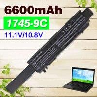 7800mAh Battery For Dell Studio 17 1745 1747 1749 0W077P 312 0186 312 0196 A3582354 A3582355