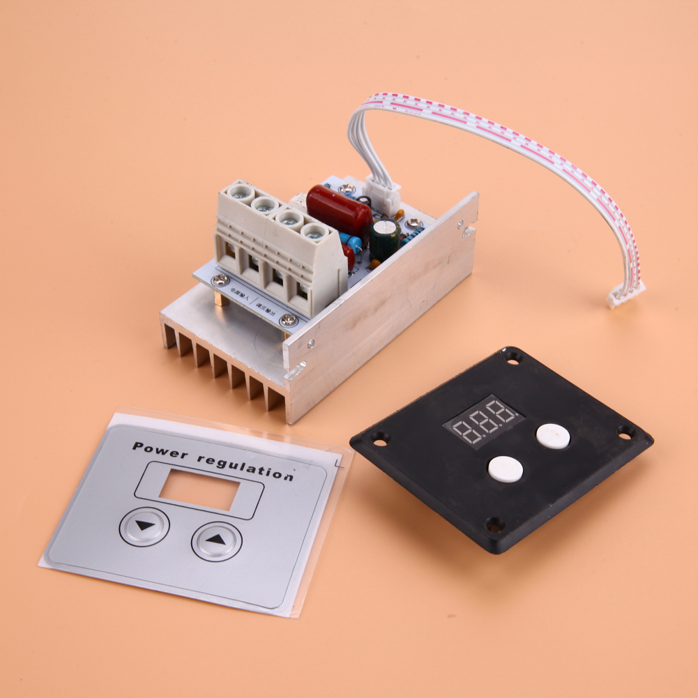 Ac 220v 10kw Import Scr Super Power Regulator Dimming Dimmers Speed Controller Thermostat Electronic Phase Control Dimmer Schematic Voltage