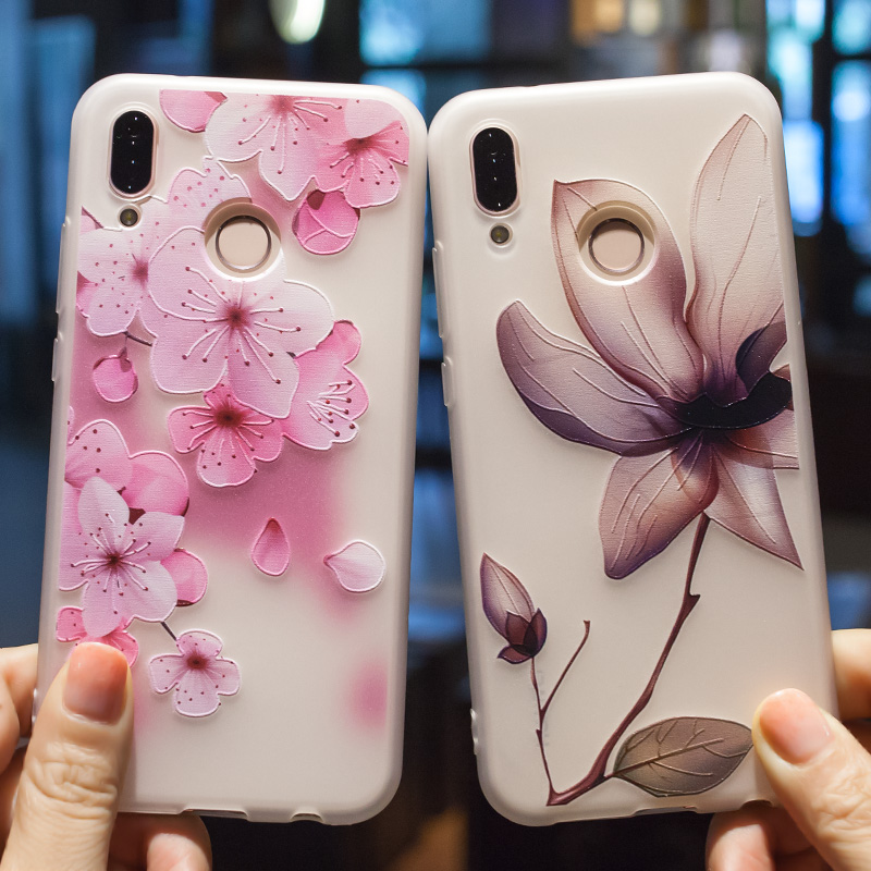 Case For Huawei P20 Lite Case Honor 9 Lite P10 P9 P8 Lite Honor 9 6X 7X Nova 2 Plus 3D Relief Soft TPU Ultra Thin Cover Funda