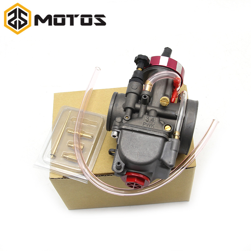 ZS MOTOS 4T Motorcycle carburetor Carburador 28 30 32 34mm with power jet for keihin original modify off road motorcycle scooter брюки greg horman greg horman gr020emxgz64