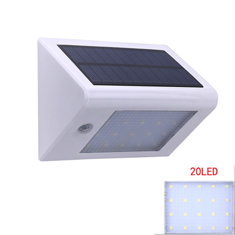 20 LEDs Solar Light Outdoor With Motion Sensor IP65 Waterproof 3 Working  Modes For Garden Sidewalk Pathway Landscape Security In Solar Lamps From  Lights ...