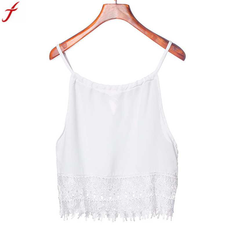 The Best Sexy Women Sleeveless Crop Tops Cami Vest Camisole Bralette Bustier Shirt Summer Streetwear Short Tee Top New Varieties Are Introduced One After Another Women's Clothing
