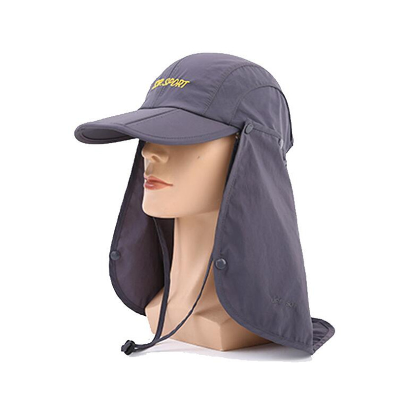 076b6f07 Men And Woman outdoor Fishing Mountaineering Jungle funny blank bucket hat  cap for Neck face protection visor Wind sand -in Bucket Hats from Apparel  ...