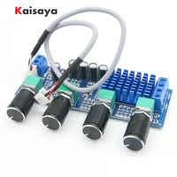 24 V DC 12 V 80 W x 2 de doble canal de Audio Digital de TPA3116 D2 agudos bajo regular preestablecida de tablero Amplificador B4-003