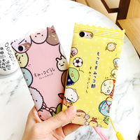 Fashion 3D Cute Cartoon Japanese Doll Candy TPU Soft Cover Case For IPhone 6 6s 6