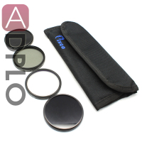 72MM CPL ND8 MCUV IR Lens Filter Case In Set