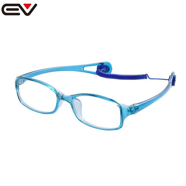 Crianças óculos de armação de óculos para crianças óculos de armação de óculos de lentes opticos EV1124