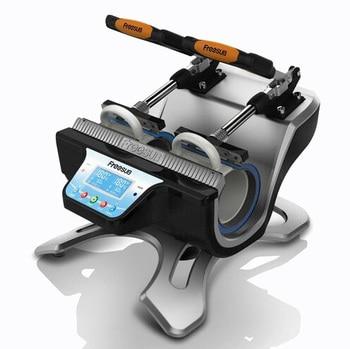 free shipping 3d heat press machine ST-210 Automatic 3D Sublimation Machine Mug press machine printing machine for mug недорого