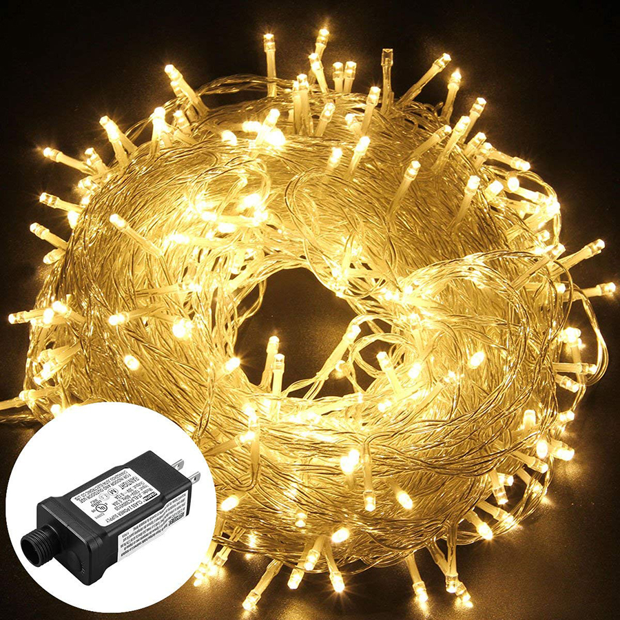 10M 20M 30M 50M 100M 24V Safe Voltage LED String Lights Outdoor Waterproof Christmas Trees Xmas Party Wedding Decoration Garland