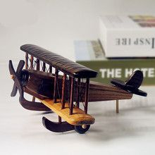Antique Wooden Aircraft Model