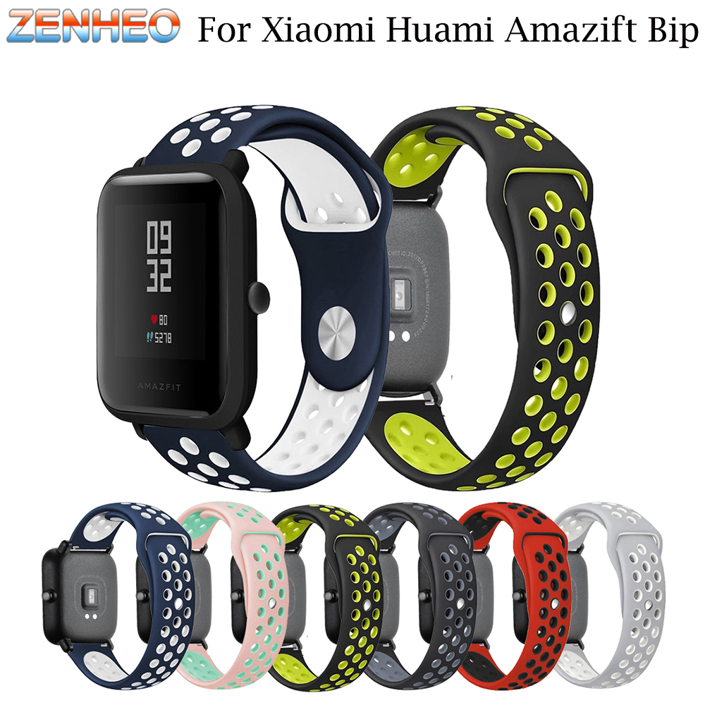 Replacement Watch band For Xiaomi Huami Amazfit Bip BIT PACE Lite Youth Band Silicone Strap Bracelet Belt For Huami Amazfit Bip 3in1 metal strap double color band for original xiaomi huami amazfit bip bit pace lite youth smart watch screen protector film