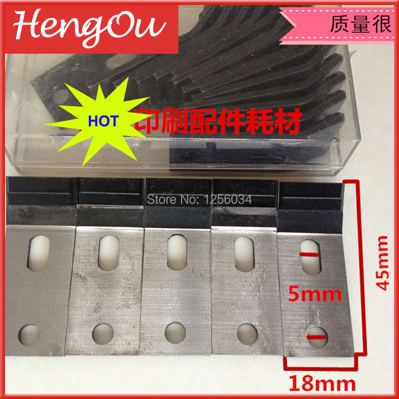 ФОТО 10 pieces free shipping high quality gripper for guanghua machine, gripper for SM 102 heidelberg