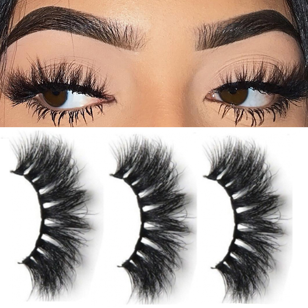 False Eyelashes Confident 5pairs/set Handmade 3d Mink Hair False Eyelashes Natural Long Cross Lashes Full Strips Fluffy Eye Makeup Beauty Extension Tools Smoothing Circulation And Stopping Pains Beauty Essentials