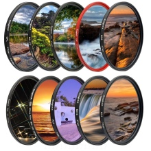 KnightX FLD UV CPL ND Star Camera Lens Filter For canon sony nikon set 60d d3300 400d 2000d dslr color 49 52 55 58 67 72 77 mm
