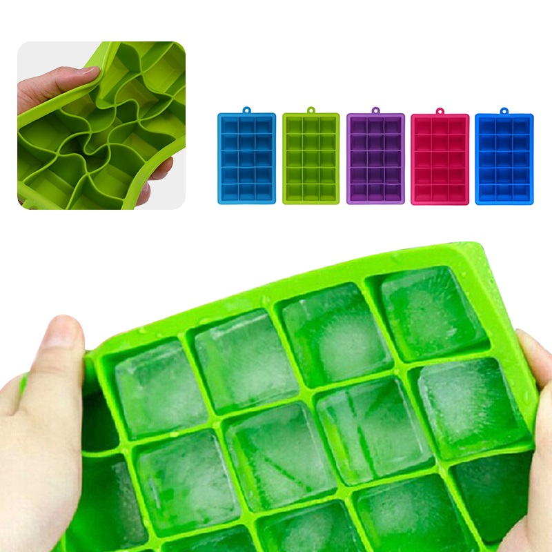 Silikonski Oblika za Ice Mould Tray Sadje Popsicle Ice Cream Maker za - Kuhinja, jedilnica in bar