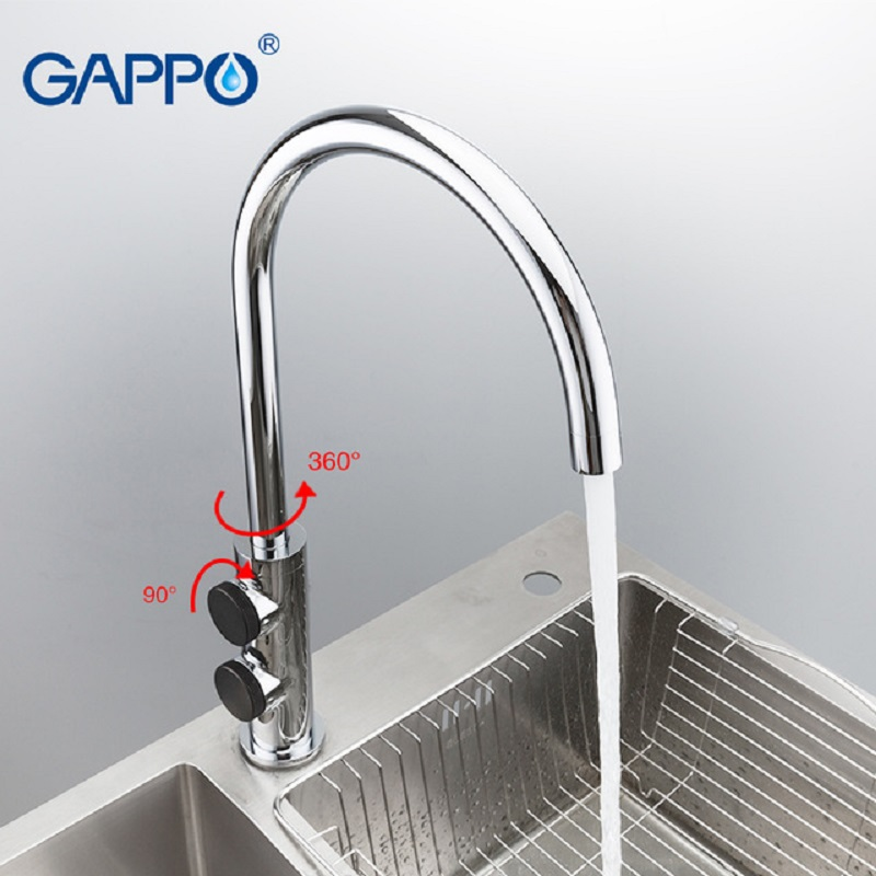 GAPPO Kitchen Faucet Mixer  Sink Faucets Water Mixer Kitchen Faucets Sink Mixers Taps  Waterfall Faucet