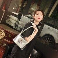 Princess sweet lolita bag Original transparent bag girl ins high temperature warning honey jelly bag fashion and all match CC144