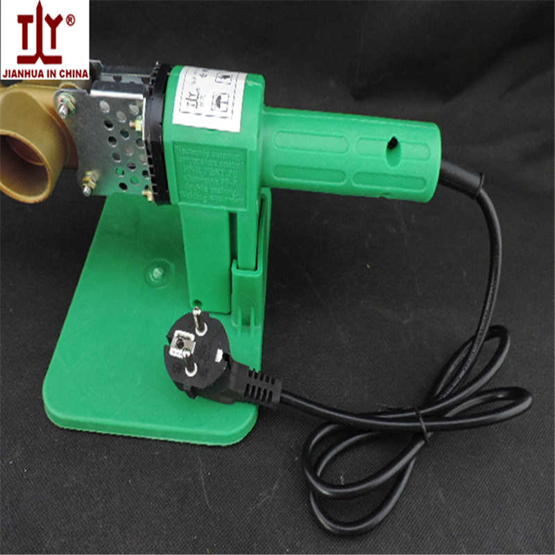 Productos patentados nacionales de China, máquina de soldadura de tubos de plástico PPR PERT de 20-32mm, 220V, 600W, calentamiento Automática