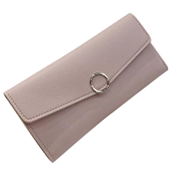 Womens Fashion Ladies Multi-card Bit Buckle Wallet Card Pack Purses Money Clip