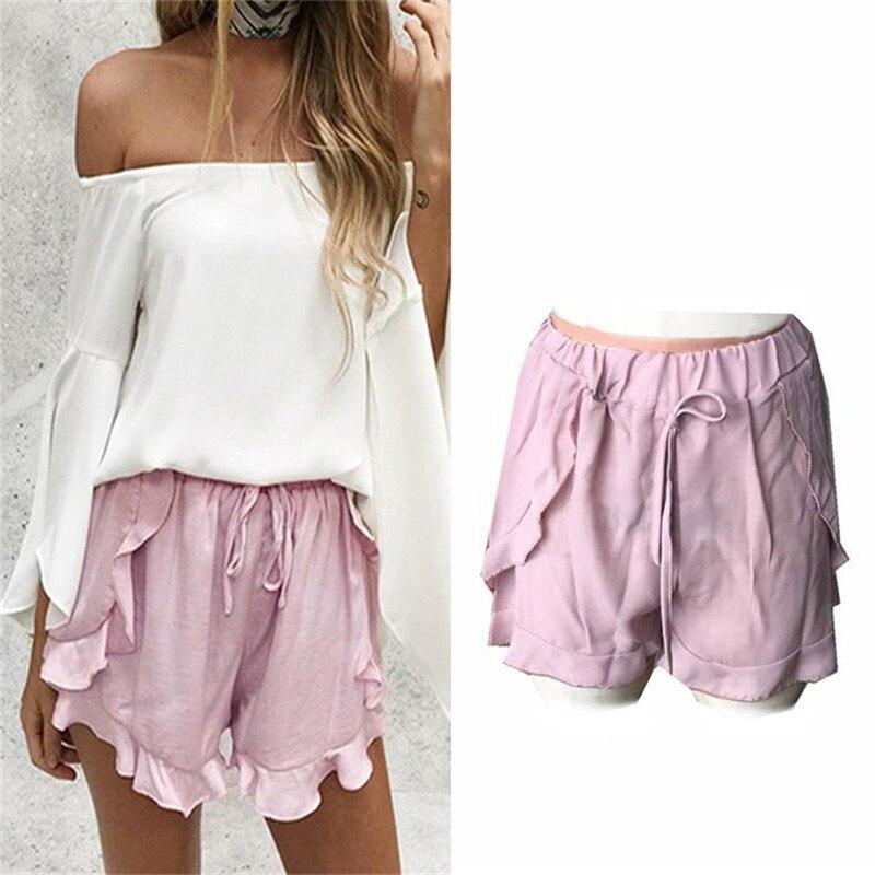 Online Get Cheap Women Elastic Waist Shorts -Aliexpress.com ...