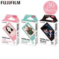 Fujifilm Pink Lemonade + черный + Небесно-Голубой Fuji Instant Photo 30 листов пленка для Instax Mini 8 9 70 7 s 50 s 50i 90 25 Share SP-1 2