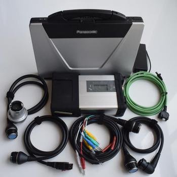 mb sd c5 cf52 connect star diagnosis with laptop toughbook cf-52 with software super ssd for 12v 24v full set ready to use