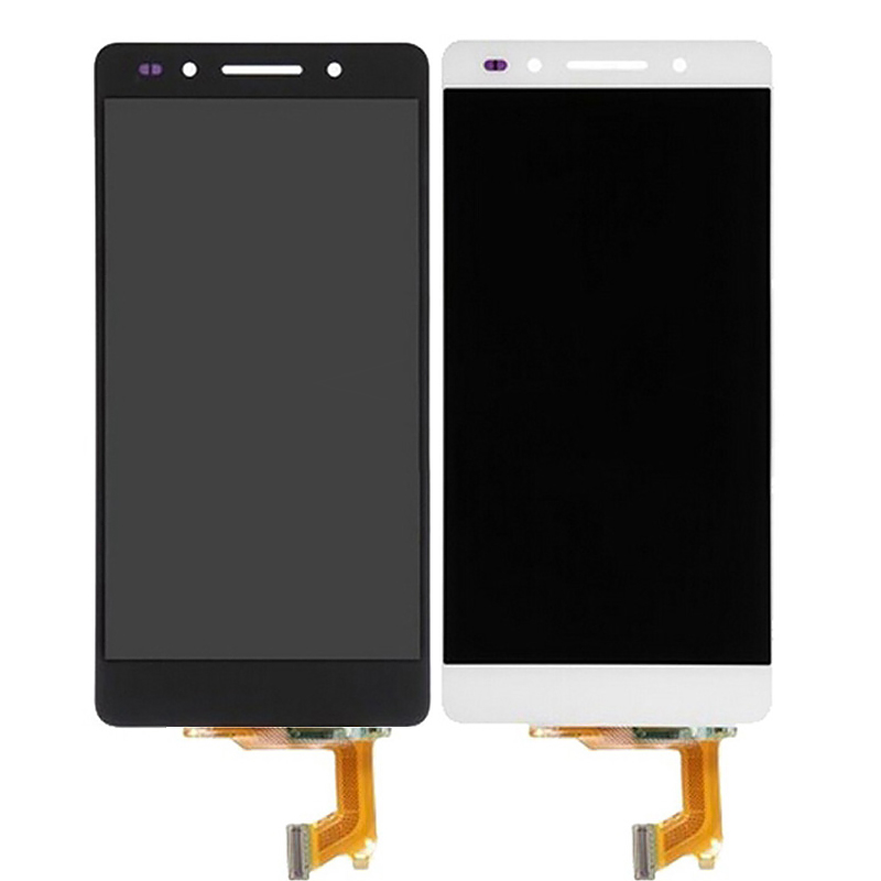 ФОТО For Huawei Honor 7 LCD Display 100% Test Quality Display LCD + Touch Screen Digitizer Assembly Replacement Repair Accessories