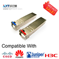 2 Pairs Factor Pluggable 10 Gbps 1270/1330nm (1270/1330nm) SFP 10G 20 km Módulo de Transceptor de fibra Óptica