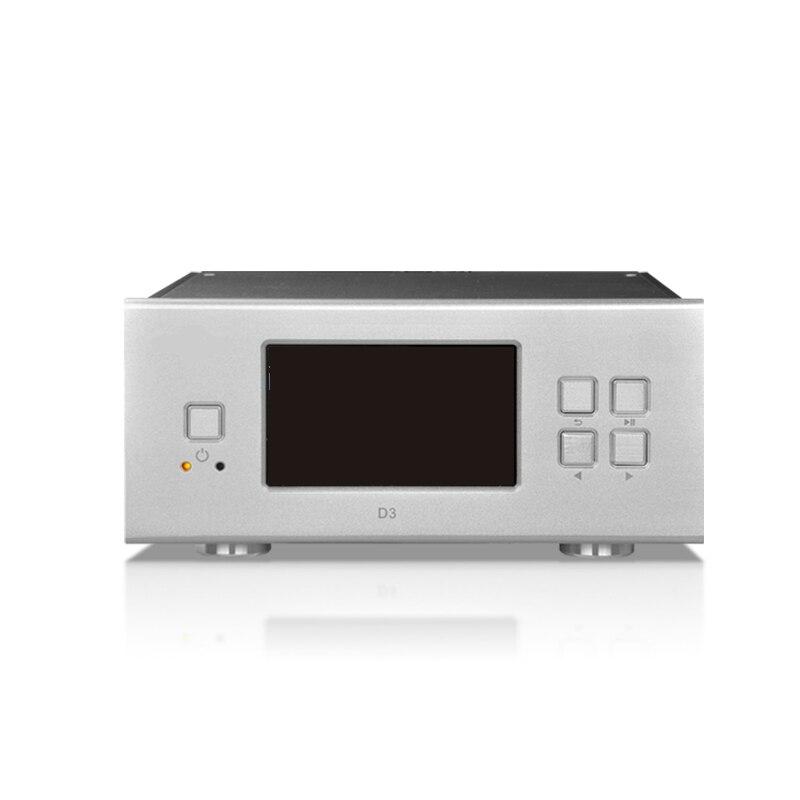 QUEENWAY Audio SHINRICO D3 D3S HIFI Numérique Musique Audio Player Support 32bit 192 K FLAC APE WAV ALAC OGG DSD64 DFF FSN SACD ISO