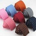 Многие белые цветочные dot вязать галстук/Европейских и Американских мужская мода последние популярные стиль восстановление древних путей галстук