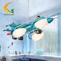LEVOU pingente luzes de Iluminação para o quarto Das Crianças dos desenhos animados avião Crianças menino Bedrooom artístico Lâmpada De Suspensão de Aço Inoxidável