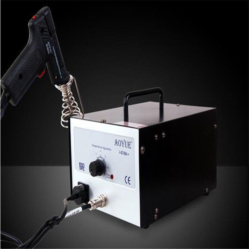 AOYUE 474A+ Upgrade I474A+ BGA Desoldering Station Electric Vacuum Desoldering Pump Solder Sucker Gun Adjustable Temperature цены