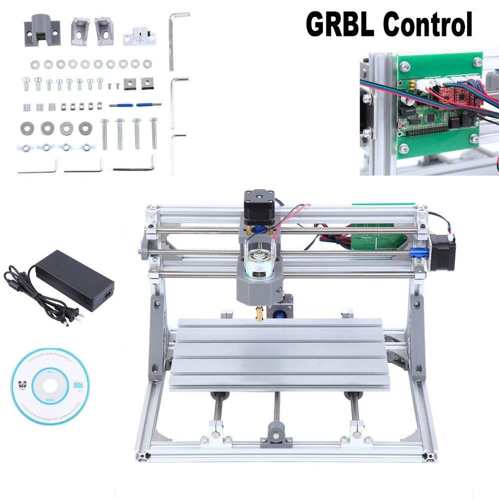 3 axes CNC 3018 bricolage routeur kit Laser gravure fraiseuse GRBL contrôle