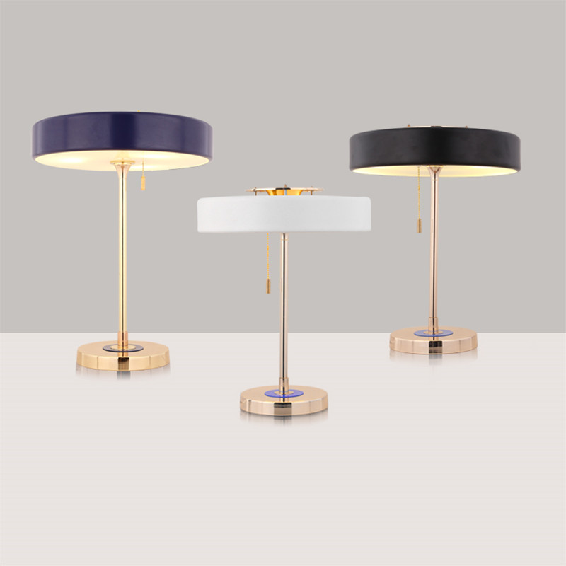 contemporary bedroom table lamps high quality luxury fashion led table lamp bedroom bedside 14954