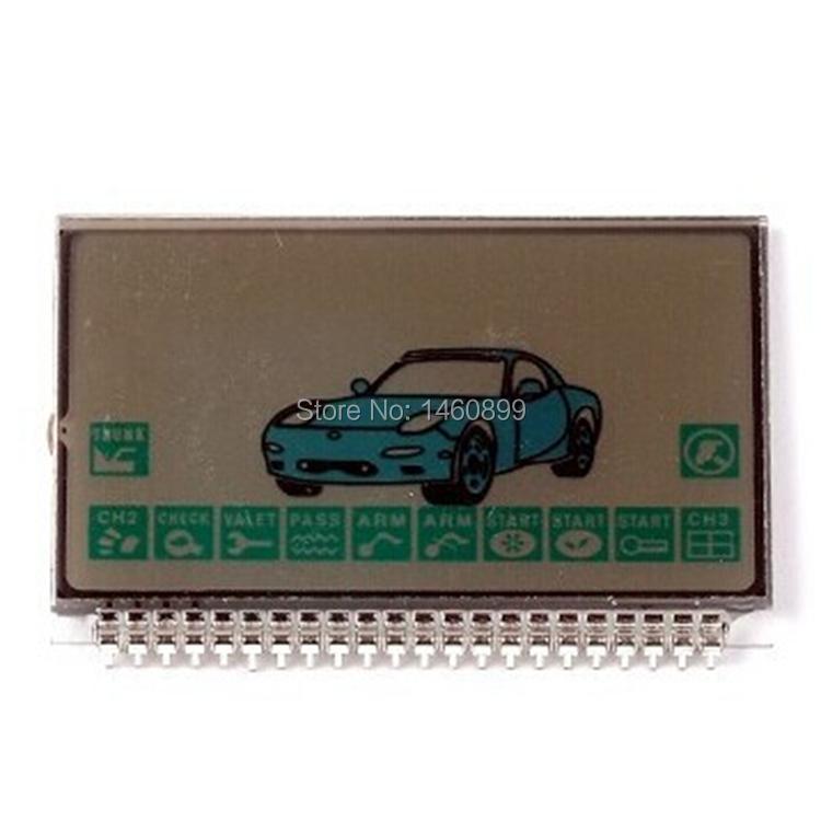 Pantalla LCD para el sistema de alarma de coche de dos vías Starline A9 lcd control remoto Key Fob Chain