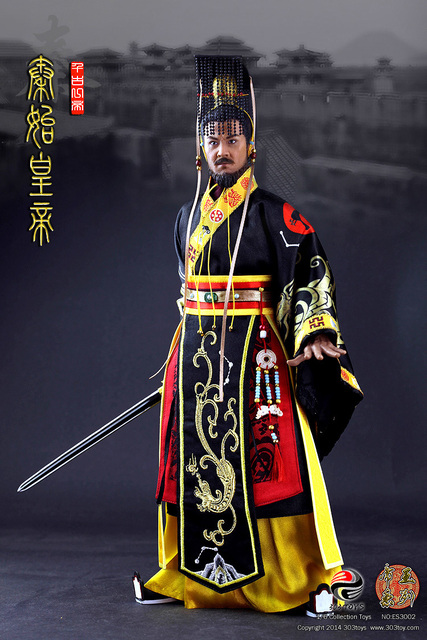 16 scale doll figure ancient chinese king qin shi huangdi first 16 scale doll figure ancient chinese king qin shi huangdi first chinese emperor sciox Image collections