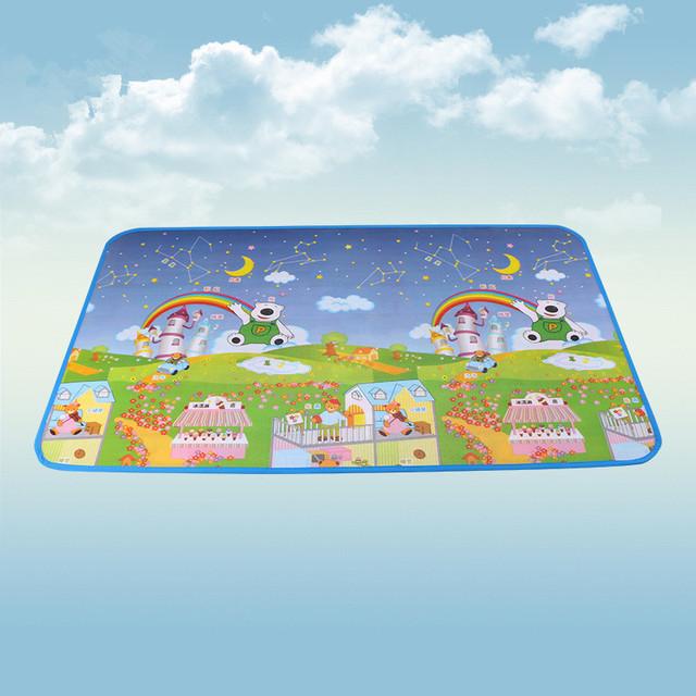 Praia brinquedo Do Bebê Esteira do Jogo da espuma, letras animais paraíso Segurança + tapete de Ginástica, Crianças Escalar Cobertor Do Bebê Tapete