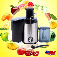 Electric Juicer Fruit Vegetable Blender Juice Extractor Citrus Machine Maker Stainless Blender Mixer