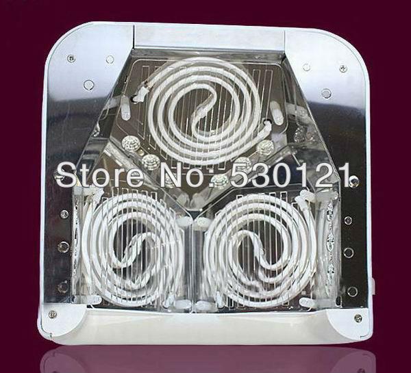 Free Shipping Genuine 110V - 240V H3 36W CCFL 24W LED 60W LED UV CCFL Nail Lamp EU/US Plug with Timer, Sensor, Voltage Adapter цена и фото