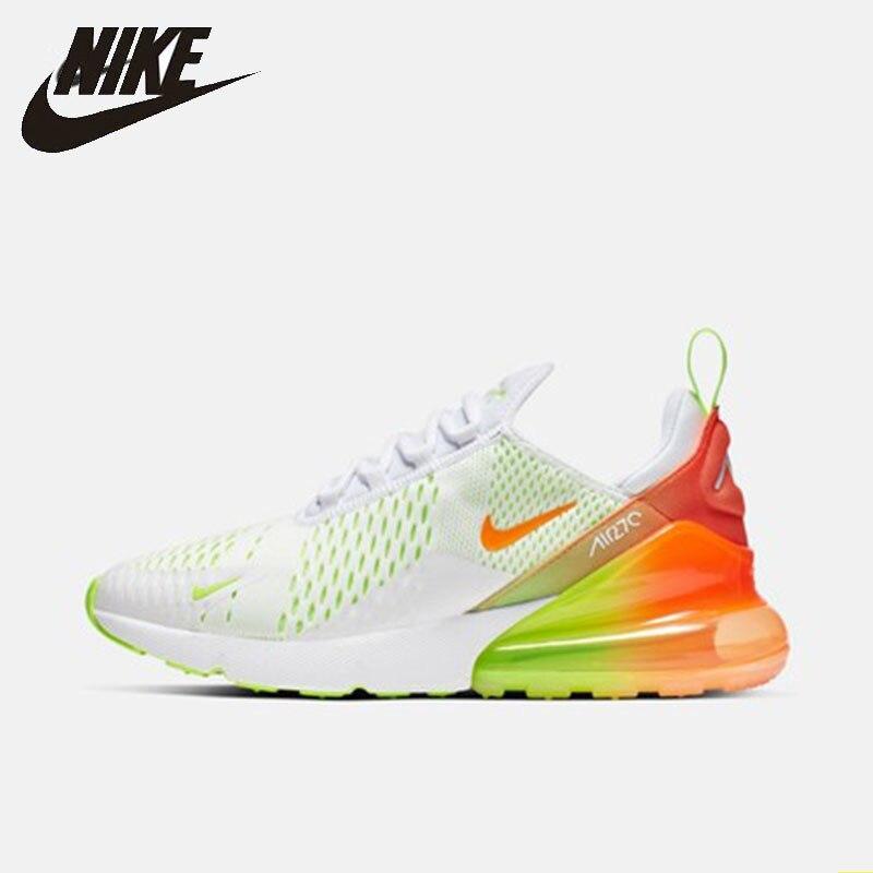 Nike Original nouveauté AIR MAX 270 Original chaussures de course pour hommes coussin et sport confortable baskets de plein AIR # CN7077