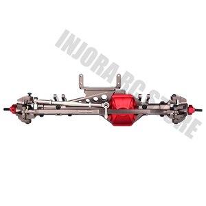 Image 3 - Metal RC araba ön/arka aks 1/10 RC kaya paleti eksenel WRAITH için 90018 90020 90045 RR10 90048 90053 RC parçaları