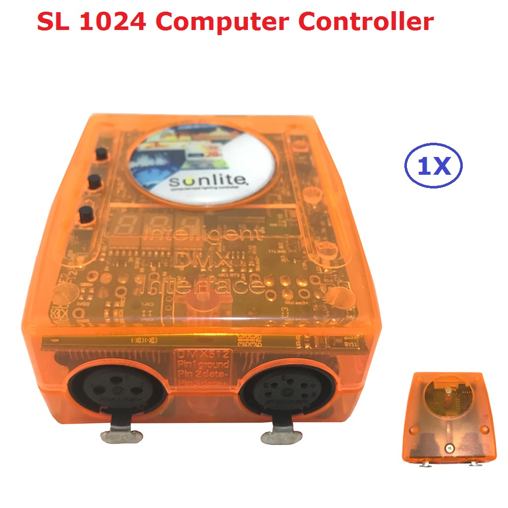 DHL Schiff Klassische Virtuellen Dj Disco Controller USB Dmx-schnittstelle Dj Controller Sunlite...