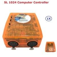 DHL Ship Classic Virtual Dj Disco Controller USB DMX Interface Dj Controller Sunlite SL1024 Computer Controller