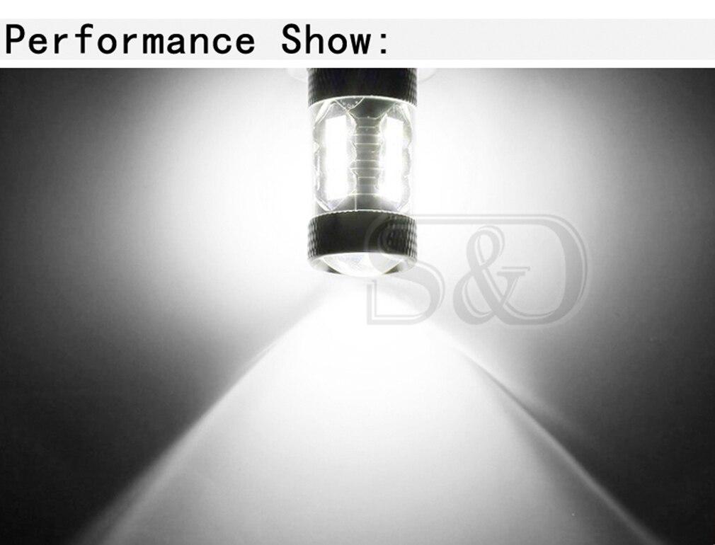 1 шт. 1156 BA15S 80 Вт светодиодных ламп автомобиля P21W светодиодный светильник кабеля сигнала поворота стоп-сигналы Автомобильная лампочка R10W R5W светодиодный авто светодиодные лампы 12 В 6000 К белый свет