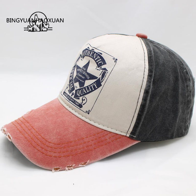 BINGYUANHAOXUAN Wholesale Snapback Baseball Caps Adjustable Cap Bone Hip Hop Hats For Men Spring Gorras Dad Hat Casquette