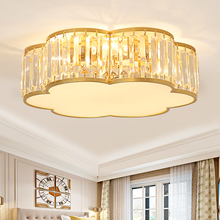 2019 Crystal Modern LED Ceiling Lights For Living Room Bedroom Home Lighting Fixtures Luxurious Stainless Steel Lamp