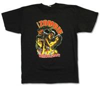ROB ZOMBIE WEREWOLF BABY TOUR 2009 BLACK T SHIRT NEW OFFICIAL ADULT Plain White T Shirt